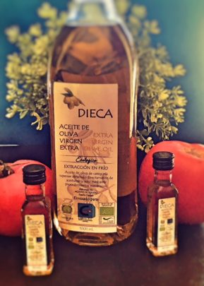 Aceite de oliva ecológico DIECA